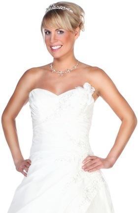 Brautschmuck haare mit schleier  Hochzeit Haarschmuck und Kopfschmuck