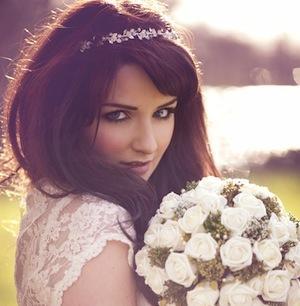 Brautschmuck haare mit schleier  ღ Brautfrisuren und Frisuren zur Hochzeit ღღ